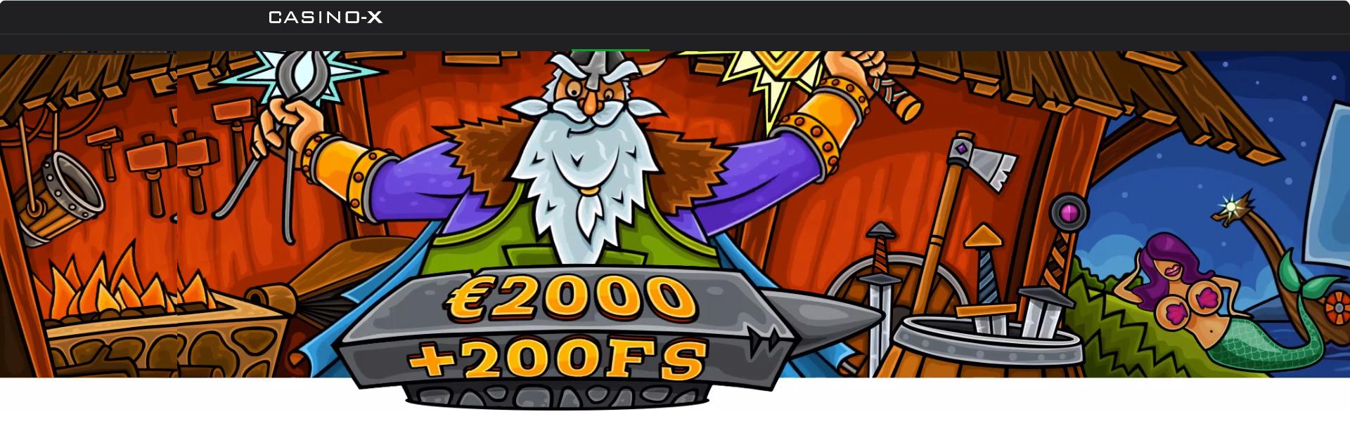 Casino-X Bonuses.