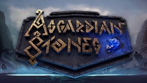Asgardian Stones slot logo.