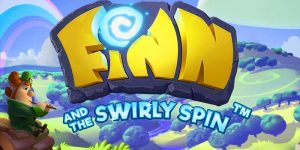Finn and the swirly spin slot.