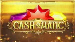 Cash-o-matic slot logo.