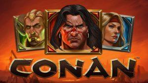 Conan Slot logo.