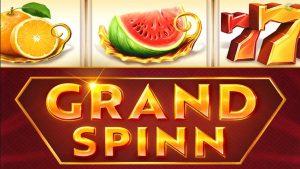 Grand Spin slot logo.