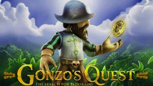 Gonzos Quest slot machine.