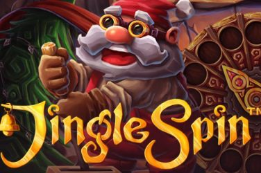 Jingle Spin logo slot.