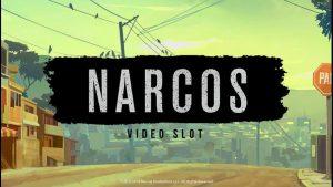 Narcos slot logo.
