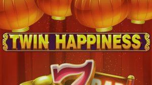 Twin Happines slot logo.