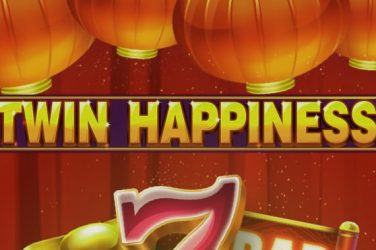 Twin Happines slot logo.