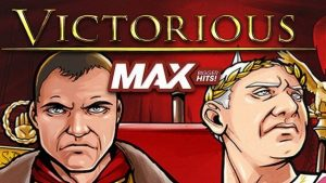 Victorious MAX slot logo.
