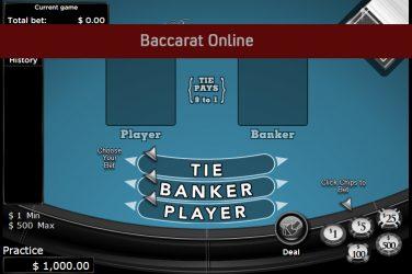 Baccarat Online.