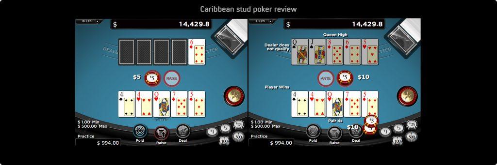 Caribbean Stud Poker.