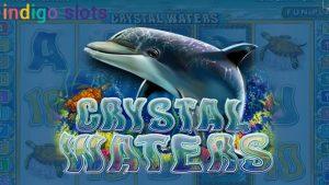 Crystal Waters Online slots logo.