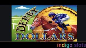 Derby Dollars slot machines logo.
