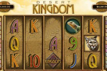 Desert Kingdom games logo.