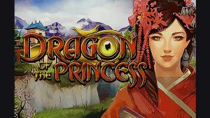 Dragon Princess slot machine logo.