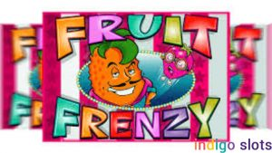 Fruit Frenzy slot machine.