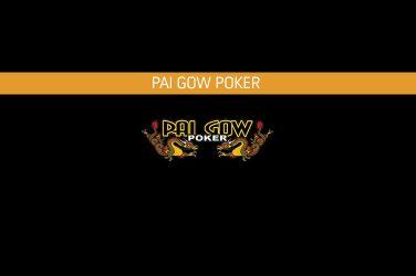 Pai Gow Poker Online.