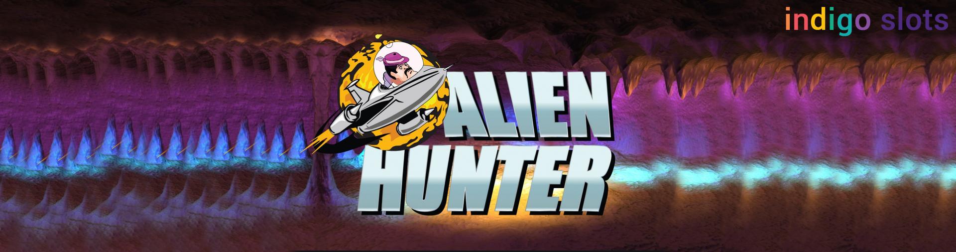 Alien Hunter Slot logo.