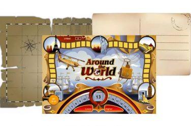 Around the world slot machine.
