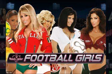 Benchwarmer Football Girls slot.