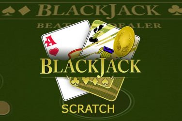 Blackjack scratch slot.