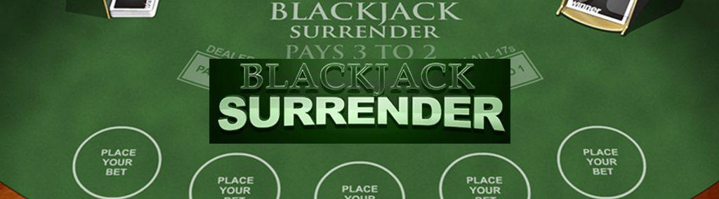 Blackjack Surrender slot.
