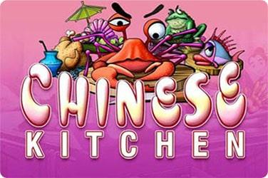 Chinese Kitchen Slot Game Logo.